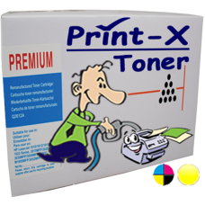 Print-X Toner Συμβατό με HP CE322A (128A) YELLOW 1.300 Σελίδες Νίκαια Ρεντης