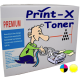 Print-X Toner Συμβατό με HP CB542A (125A) YELLOW 1.400 Σελίδες