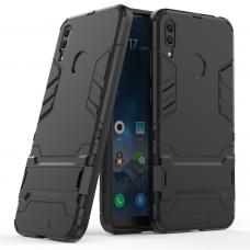 Θήκη Κινητού BBR Iron Αντικραδασμική ( Armor - Shockproof ) με ενσωματωμένη βάση στήριξης ( Kickstand ) για HUAWEI Y7 2019 BLACK