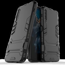 Θήκη Κινητού BBR Iron Αντικραδασμική ( Armor - Shockproof ) με ενσωματωμένη βάση στήριξης ( Kickstand ) για HONOR 9X PRO BLACK