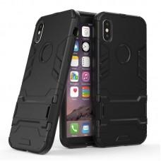 """Θήκη Κινητού BBR Iron Αντικραδασμική ( Armor - Shockproof ) με ενσωματωμένη βάση στήριξης ( Kickstand ) για i-PHONE 10 XS/XR MAX (6,5"""") BLACK"""