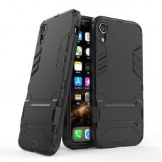 """Θήκη Κινητού BBR Iron Αντικραδασμική ( Armor - Shockproof ) με ενσωματωμένη βάση στήριξης ( Kickstand ) για i-PHONE 9 XR (6,1"""") BLACK"""