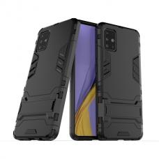 Θήκη Κινητού BBR Iron Αντικραδασμική ( Armor - Shockproof ) με ενσωματωμένη βάση στήριξης ( Kickstand ) για SAMSUNG Galaxy A21s BLACK