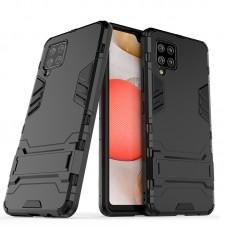 Θήκη Κινητού BBR Iron Αντικραδασμική ( Armor - Shockproof ) με ενσωματωμένη βάση στήριξης ( Kickstand ) για SAMSUNG Galaxy A42 BLACK