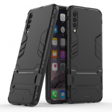 Θήκη Κινητού BBR Iron Αντικραδασμική ( Armor - Shockproof ) με ενσωματωμένη βάση στήριξης ( Kickstand ) για SAMSUNG Galaxy A50 BLACK
