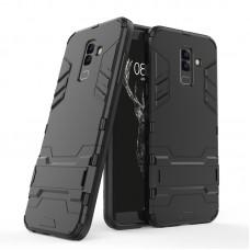 Θήκη Κινητού BBR Iron Αντικραδασμική ( Armor - Shockproof ) με ενσωματωμένη βάση στήριξης ( Kickstand ) για SAMSUNG Galaxy A6 PLUS BLACK