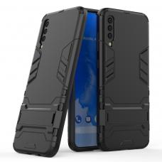 Θήκη Κινητού BBR Iron Αντικραδασμική ( Armor - Shockproof ) με ενσωματωμένη βάση στήριξης ( Kickstand ) για SAMSUNG Galaxy A70 BLACK