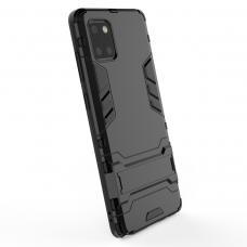 Θήκη Κινητού BBR Iron Αντικραδασμική ( Armor - Shockproof ) με ενσωματωμένη βάση στήριξης ( Kickstand ) για SAMSUNG Galaxy A81 BLACK