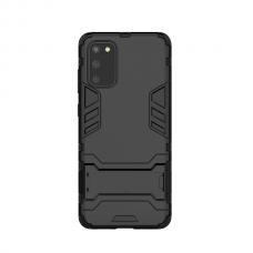 Θήκη Κινητού BBR Iron Αντικραδασμική ( Armor - Shockproof ) με ενσωματωμένη βάση στήριξης ( Kickstand ) για SAMSUNG Galaxy A91 BLACK
