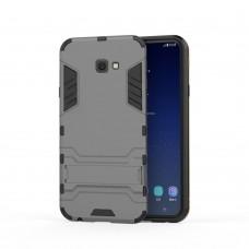Θήκη Κινητού BBR Iron Αντικραδασμική ( Armor - Shockproof ) με ενσωματωμένη βάση στήριξης ( Kickstand ) για SAMSUNG Galaxy J4 PLUS GRAY
