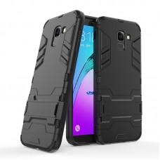 Θήκη Κινητού BBR Iron Αντικραδασμική ( Armor - Shockproof ) με ενσωματωμένη βάση στήριξης ( Kickstand ) για SAMSUNG Galaxy J6 BLACK