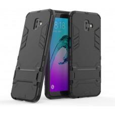 Θήκη Κινητού BBR Iron Αντικραδασμική ( Armor - Shockproof ) με ενσωματωμένη βάση στήριξης ( Kickstand ) για SAMSUNG Galaxy J6 PLUS BLACK