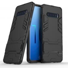 Θήκη Κινητού BBR Iron Αντικραδασμική ( Armor - Shockproof ) με ενσωματωμένη βάση στήριξης ( Kickstand ) για SAMSUNG Galaxy S10e BLACK