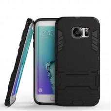 Θήκη Κινητού BBR Iron Αντικραδασμική ( Armor - Shockproof ) με ενσωματωμένη βάση στήριξης ( Kickstand ) για SAMSUNG Galaxy S7 EDGE BLACK