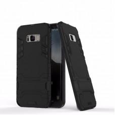 Θήκη Κινητού BBR Iron Αντικραδασμική ( Armor - Shockproof ) με ενσωματωμένη βάση στήριξης ( Kickstand ) για SAMSUNG Galaxy S8 BLACK