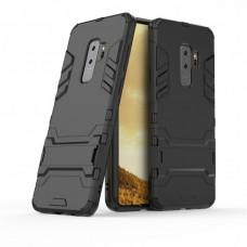 Θήκη Κινητού BBR Iron Αντικραδασμική ( Armor - Shockproof ) με ενσωματωμένη βάση στήριξης ( Kickstand ) για SAMSUNG Galaxy S9 PLUS BLACK