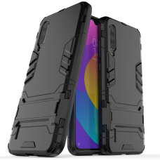 Θήκη Κινητού BBR Iron Αντικραδασμική ( Armor - Shockproof ) με ενσωματωμένη βάση στήριξης ( Kickstand ) για XIAOMI MI 9 BLACK